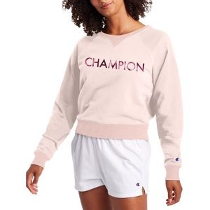 NWT- Champion Campus French Terry Crew Sweater